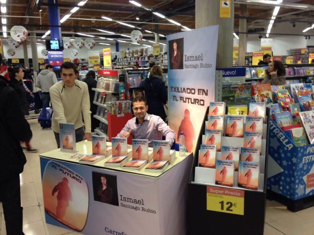 Ismael Santiago Rubio en Carrefour